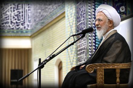 """دیدار کارشناسان برنامه تلویزیونی """"سمت خدا"""" با حضرت آیت الله جوادی آملی + بروز شد"""