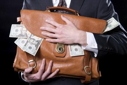 تصویر از اختلاس، یکی از ثمرات بانک داری ربوی
