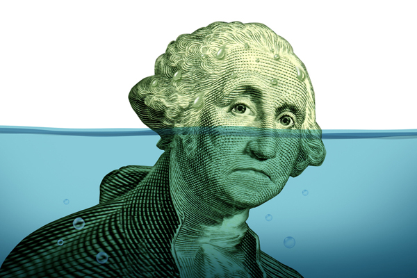 هر شهروند آمریکایی تا ده سال آینده بیش از ۷۵ هزار دلار بدهی خواهد داشت