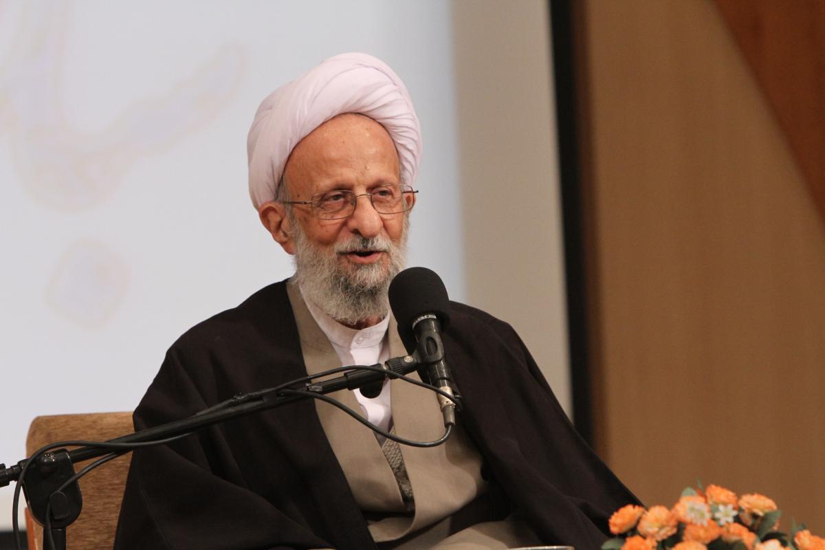 تصویر از تایید جنبش توسط آیت الله مصباح یزدی