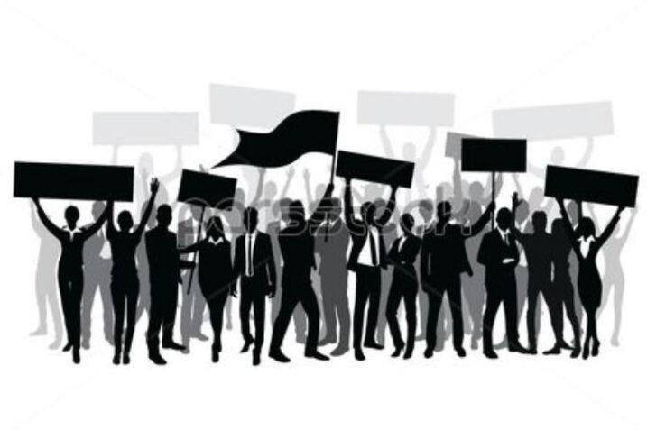تجمع ۲ هزار نفری ضدربا در قرقیزستان