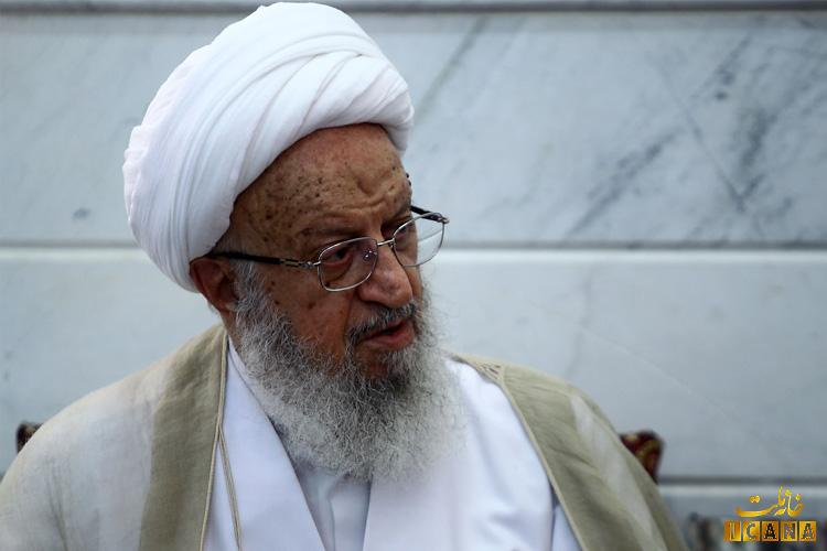 تصویر از آیت الله مکارم شیرازی: اگر در بین مردم، فرهنگ غلط نهادینه شود، مسئله ربا، رشوه و حقوقهای نجومی پدید خواهد آمد