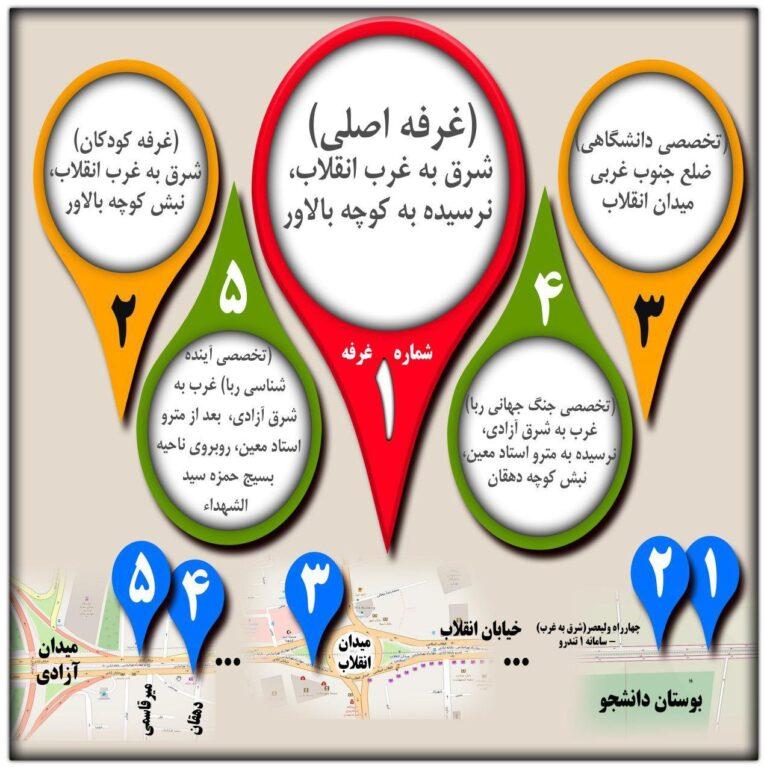 غرفههای ممانعت از ربا در چهلمین جشن انقلاب